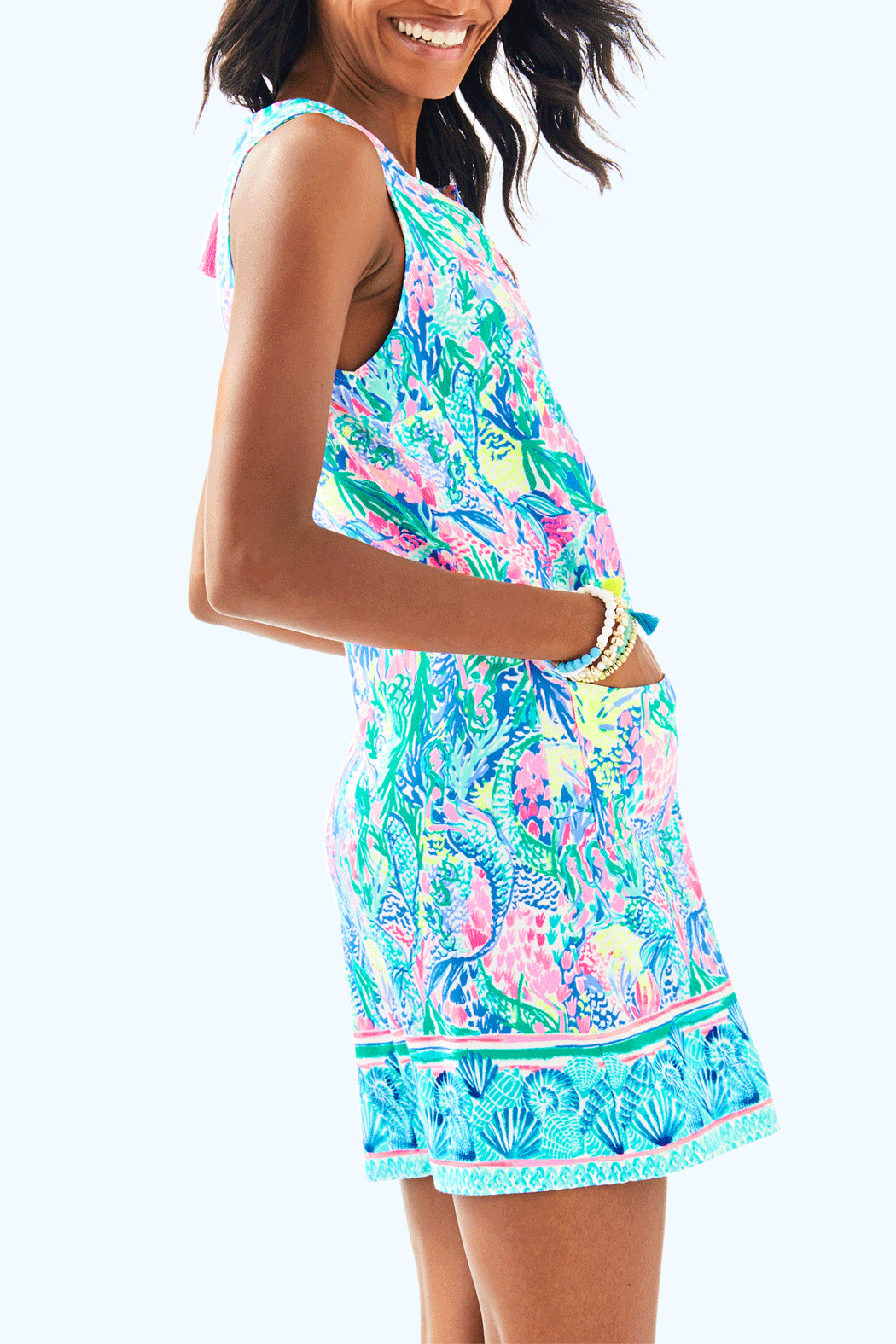 Lilly Pulitzer Kelby Shift Dress - Side Cropped Image
