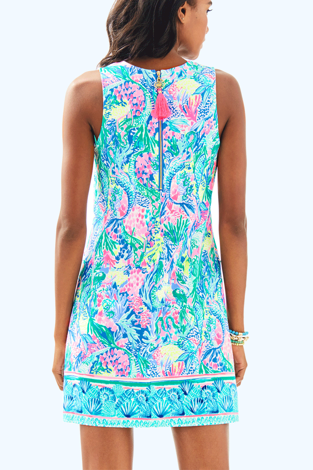 Lilly Pulitzer Kelby Shift Dress - Front Full Image