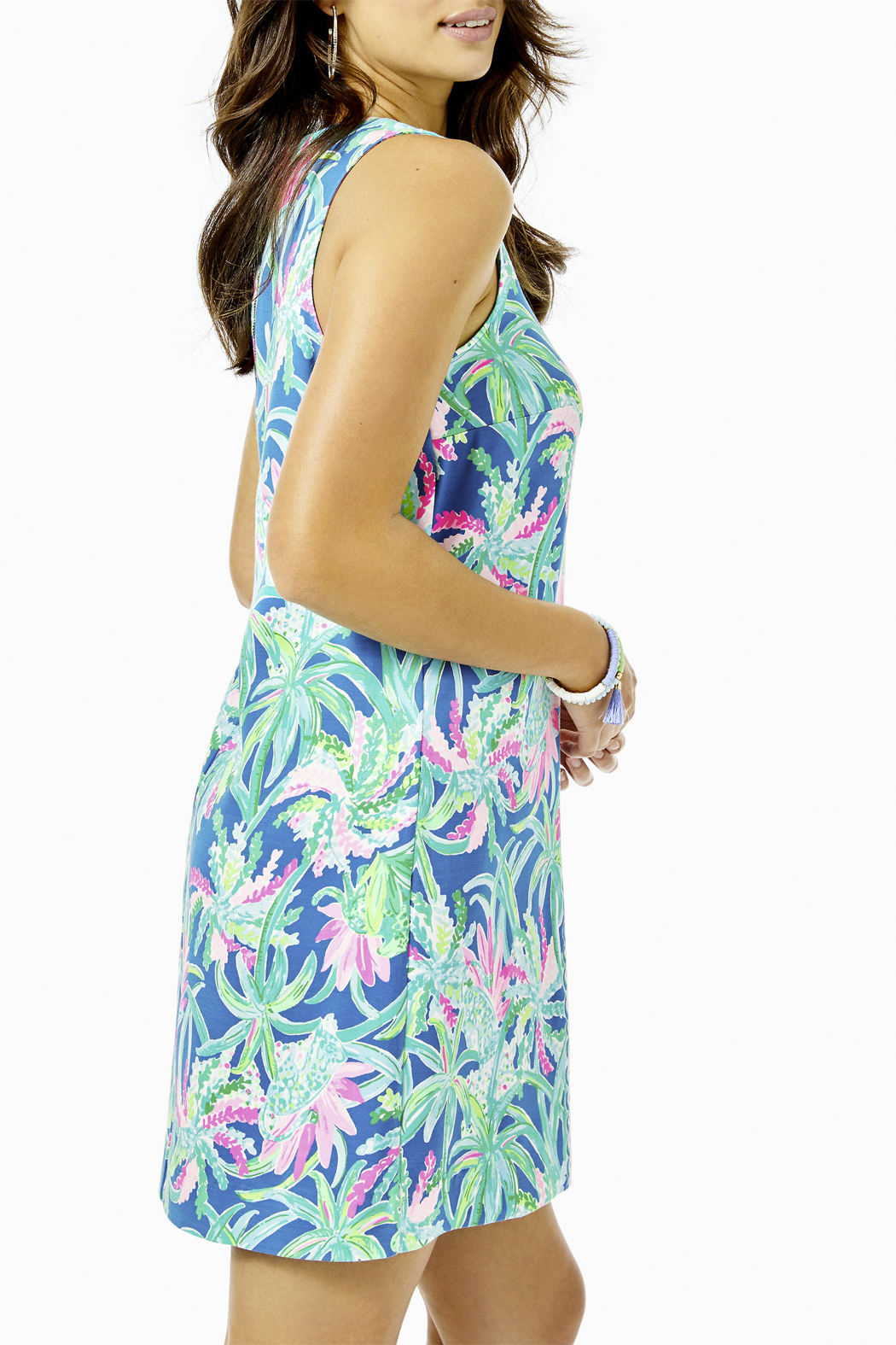 Lilly Pulitzer  Kelby Stretch Shift Dress - Front Full Image