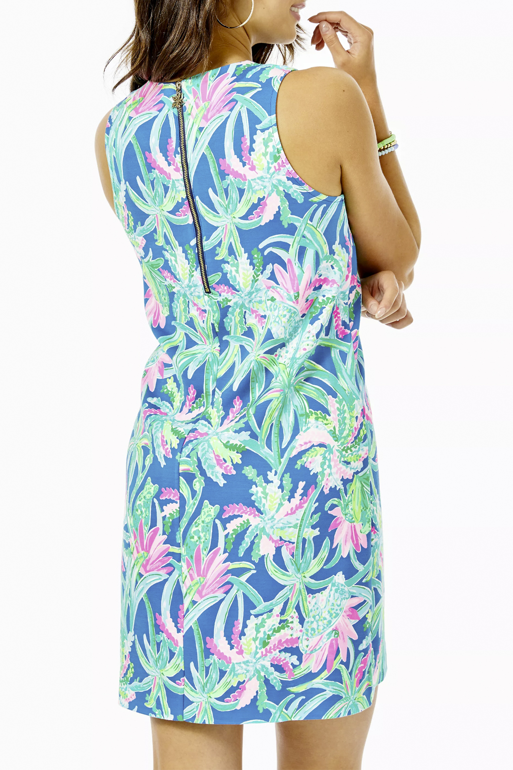 Lilly Pulitzer  Kelby Stretch Shift Dress - Side Cropped Image