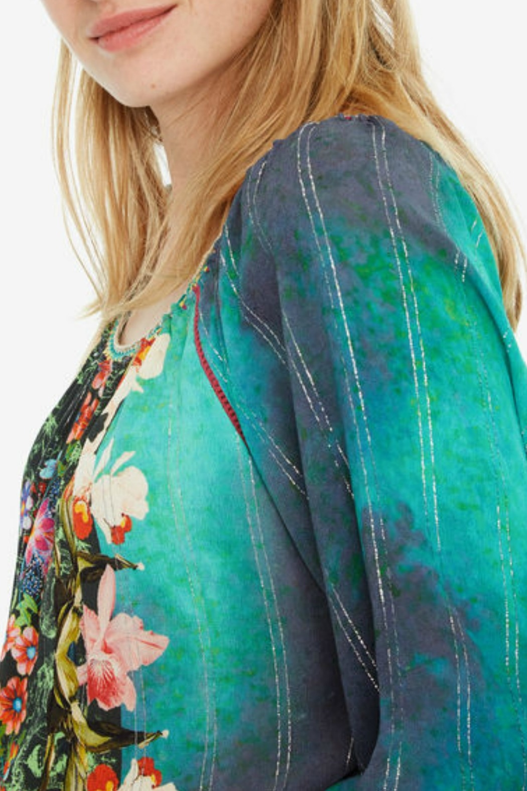 DESIGUAL Kelly Blouse - Front Full Image