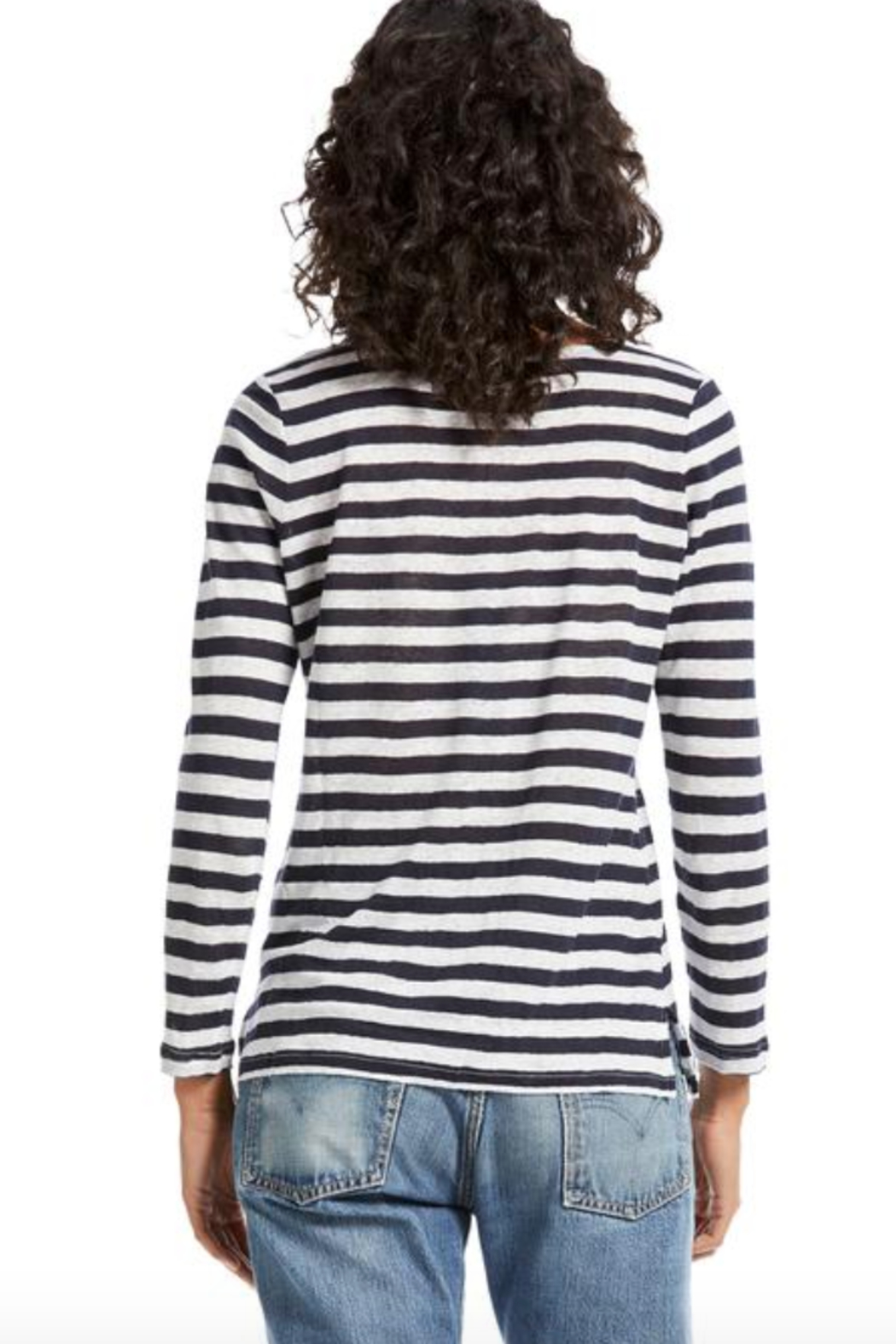 Michael Stars Kelly Boat Neck Top - Side Cropped Image
