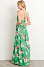Soprano Kelly-Green Floral Maxi - Other
