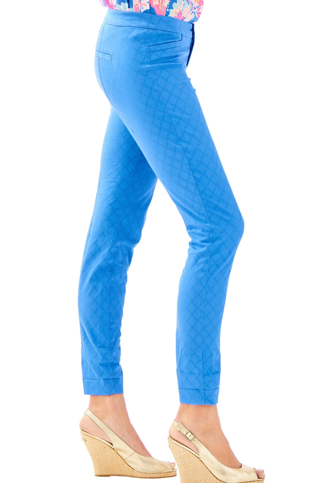 Lilly Pulitzer Kelly Skinny Pant - Side Cropped Image