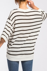 Cherish Kelly Striped Sweater - Product Mini Image