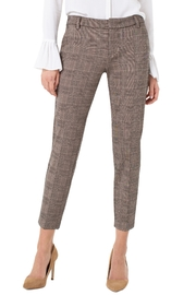 Liverpool Kelsey Checked Trouser - Product Mini Image