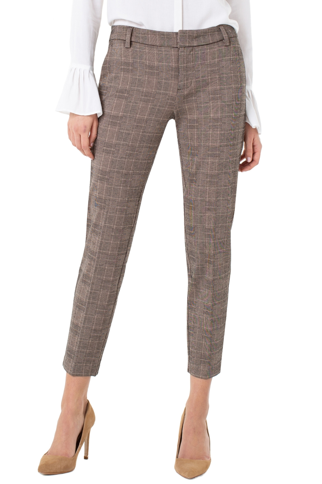 Liverpool Kelsey Checked Trouser - Main Image