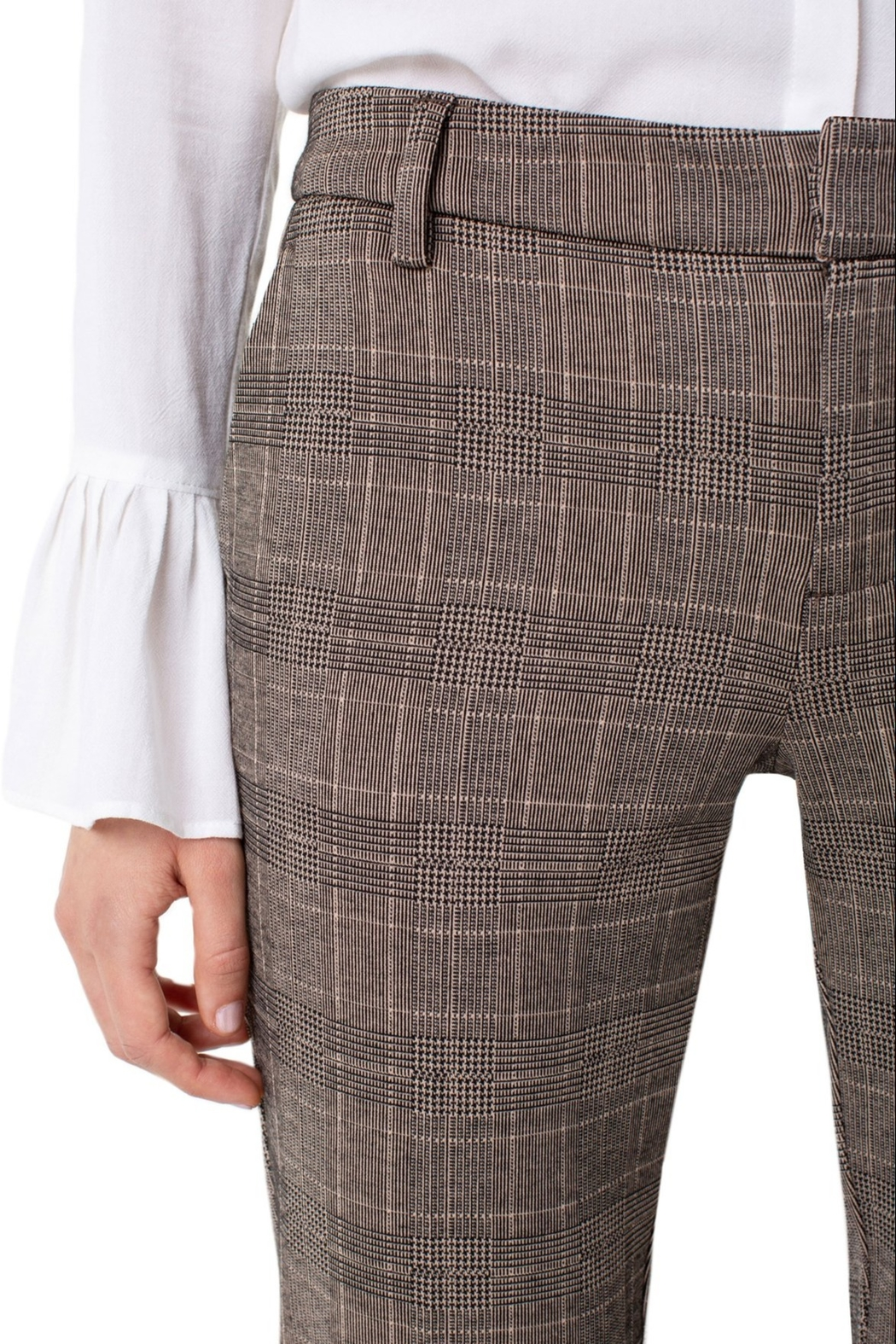 Liverpool Kelsey Checked Trouser - Front Full Image