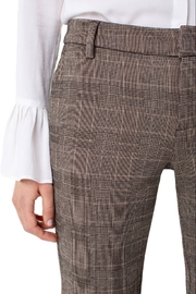 Liverpool Kelsey Checked Trouser - Front full body