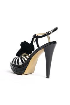 Kelsi Dagger Hania Black Flower Heels - Alternate List Image