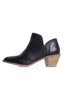 Kelsi Dagger Brooklyn Black Leather Bootie - Product List Image