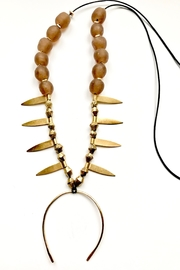 Boho Gal Kemba Earth Necklace - Front full body