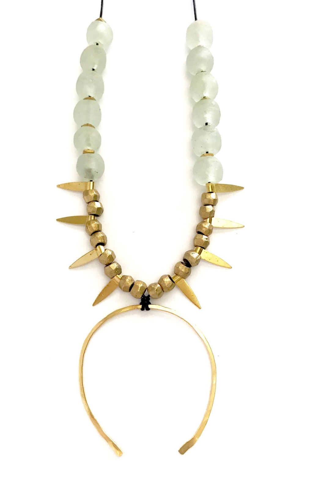 Boho Gal Kemba Earth Necklace - Front Cropped Image