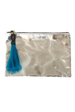Shoptiques Product: Mirrored Leather Pouch