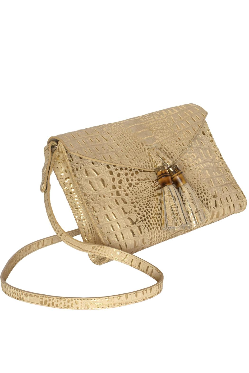 Kenall Bamboo Clutch - Front Full Image