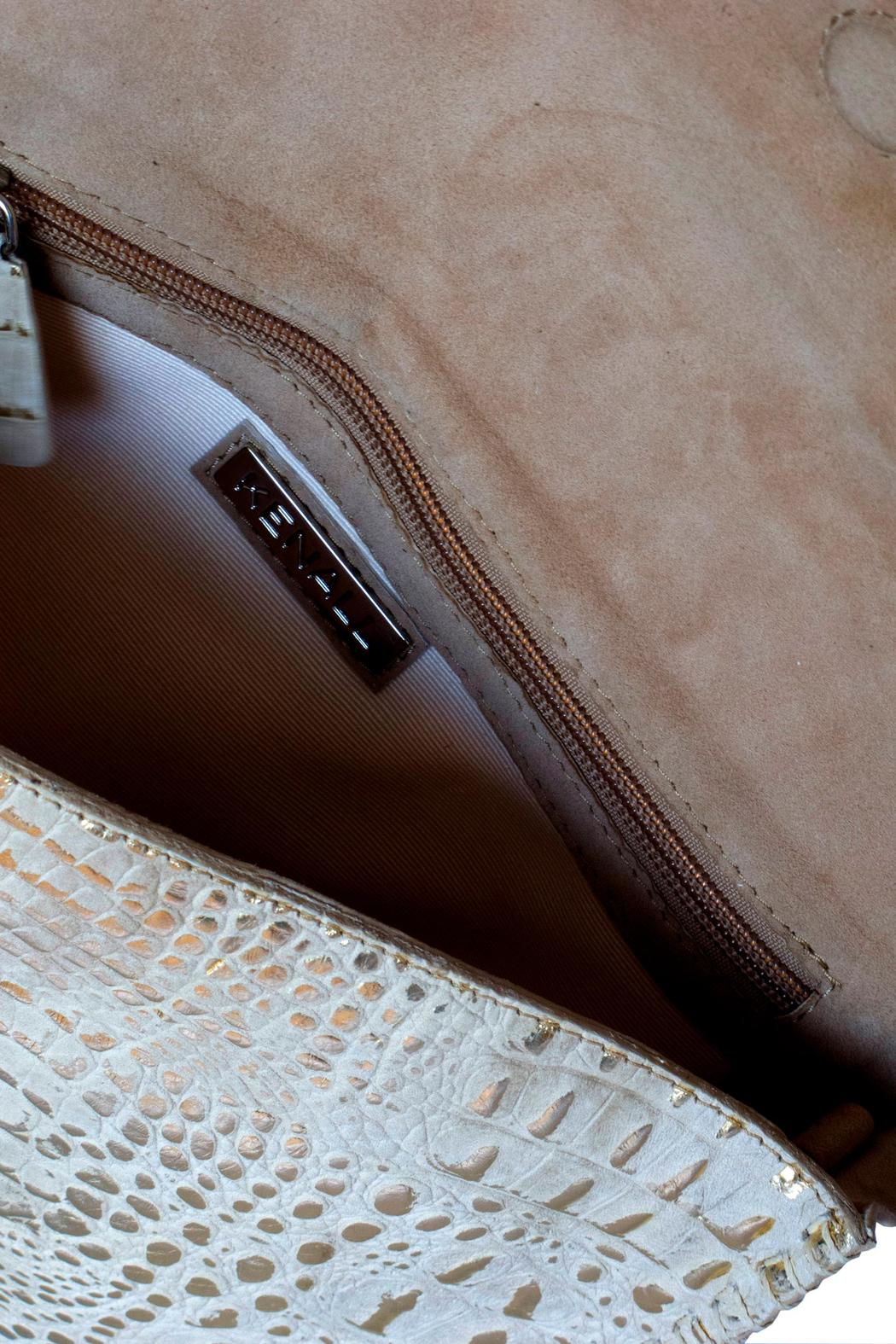 Kenall Bamboo Clutch - Side Cropped Image