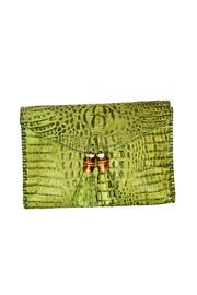 Kenall Bamboo Clutch - Front cropped