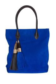Kenall Suede Shopping Bag - Product Mini Image