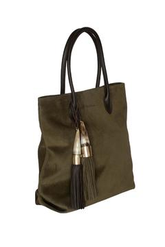 Kenall Suede Shopping Bag - Alternate List Image