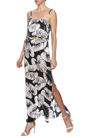 Kendall + Kylie Cutout Silk Maxi Dress - Product Mini Image