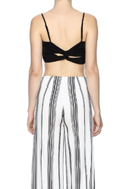 Kendall + Kylie Ruched Crop Bustier - Back cropped
