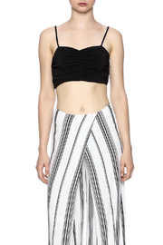 Kendall + Kylie Ruched Crop Bustier - Side cropped