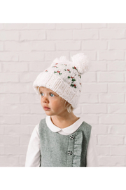 The Blueberry Hill Kendall Holly Hat - Front full body