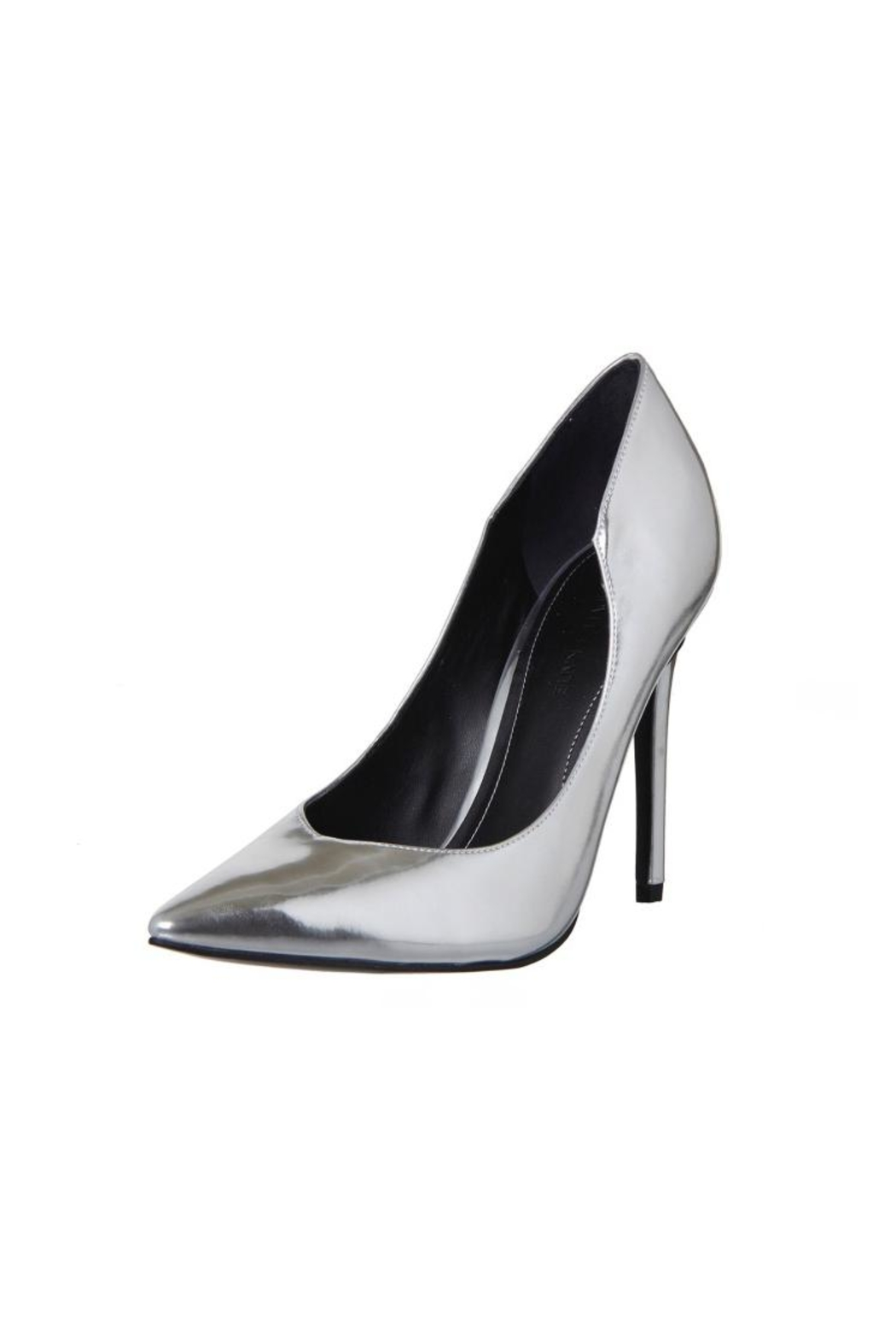 Kendall + Kylie Abi Metallic Heels - Front Cropped Image