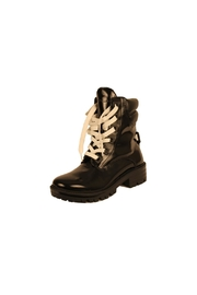 Kendall + Kylie Black Patent Boot - Front cropped