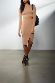 Kendall + Kylie Compact Overlap Skirt - Product Mini Image