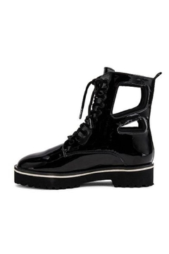 Shoptiques Product: Cut Out Combat Boot