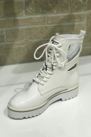Kendall + Kylie Cut Out Combat Boot - Front cropped