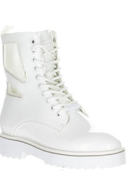 Kendall + Kylie Cut Out Combat Boot - Back cropped