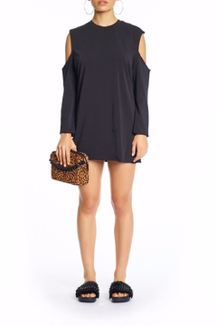 Kendall + Kylie Cutaway Long Sleeve Dress - Product List Image