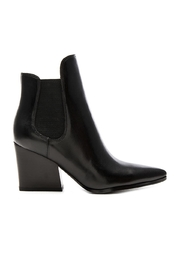 Kendall + Kylie Finley Leather Bootie - Front full body
