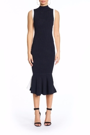 Kendall + Kylie Illusion Peplum Dress - Front cropped
