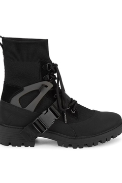 Kendall + Kylie Eclipse Combat Sock Booties - Product List Image