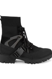 Kendall + Kylie Eclipse Combat Sock Booties - Product Mini Image