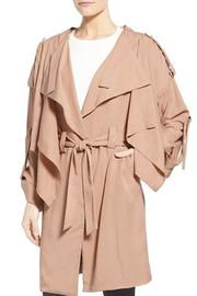 Kendall + Kylie Lightweight Trench Coat - Side cropped