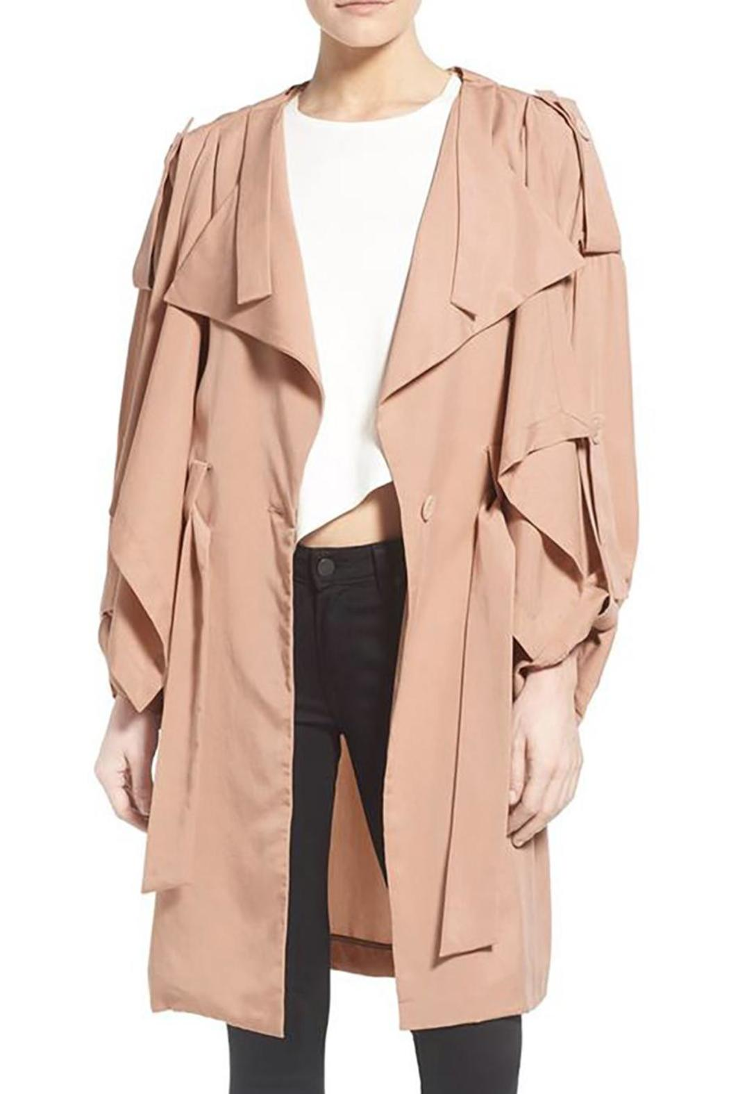 Kendall + Kylie Lightweight Trench Coat - Main Image