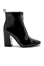 Kendall + Kylie Raquel Patent Bootie - Front full body