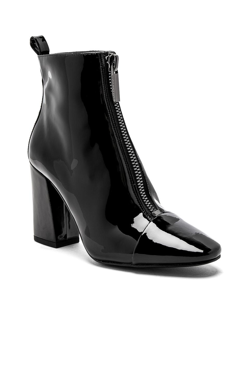 Kendall + Kylie Raquel Patent Bootie - Side Cropped Image