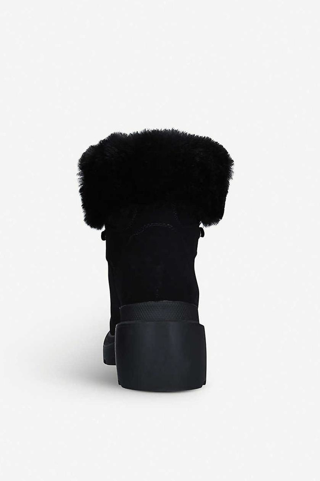 Kendall + Kylie Roan Fur Hiking Boot - Front Full Image