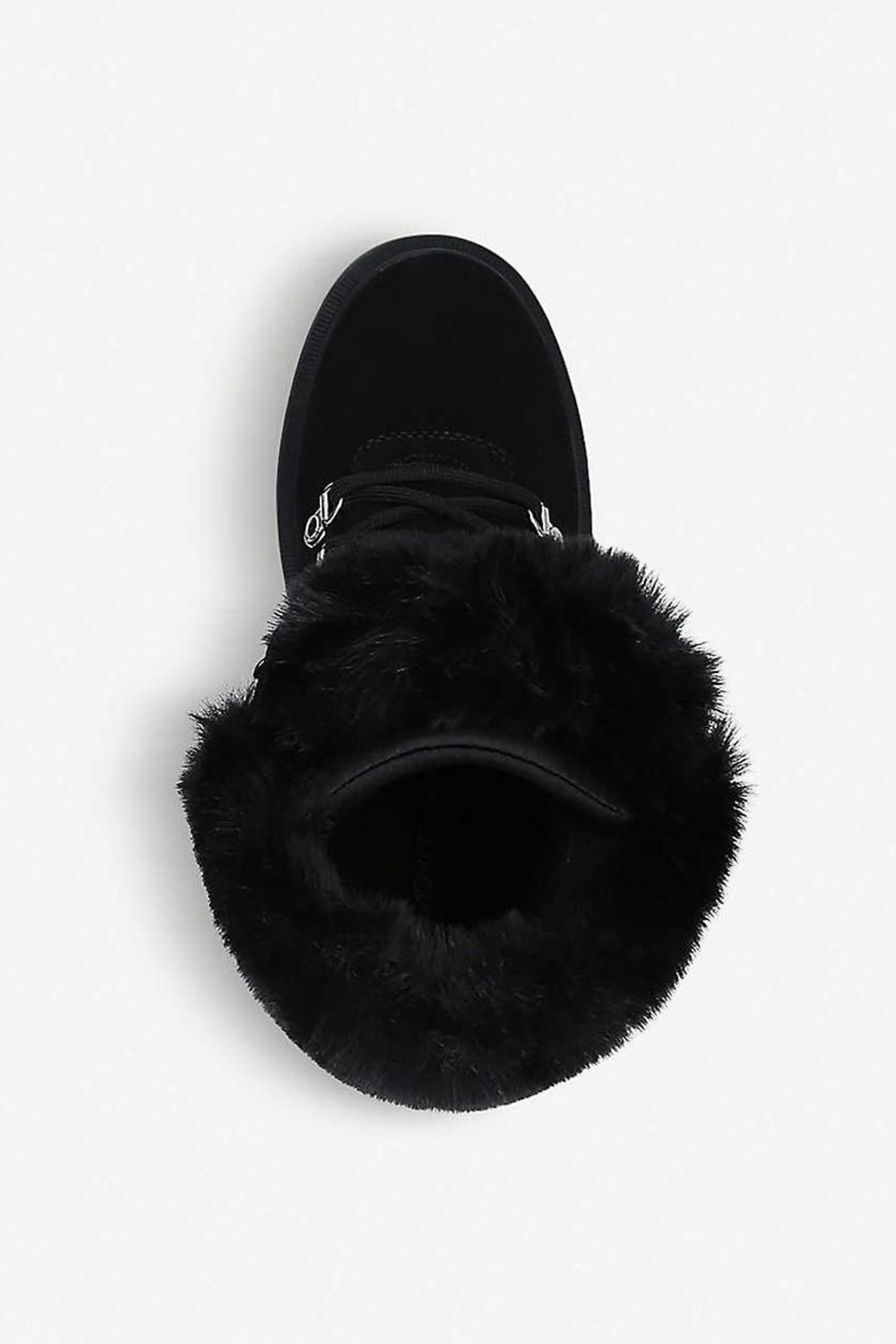 Kendall + Kylie Roan Fur Hiking Boot - Side Cropped Image