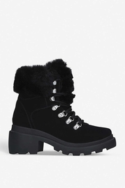 Kendall + Kylie Roan Fur Hiking Boot - Product Mini Image