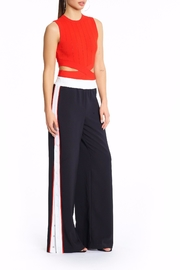 Kendall + Kylie Snap Track Pants - Front full body