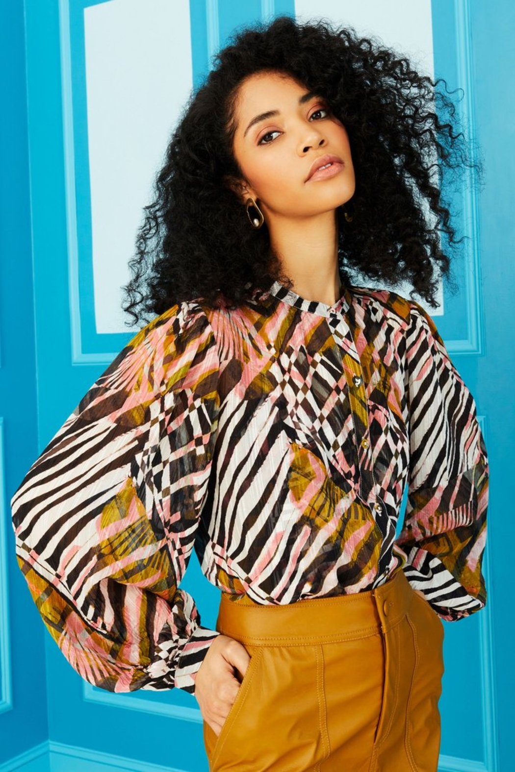 Marie Oliver Kendra Blouse - Front Full Image