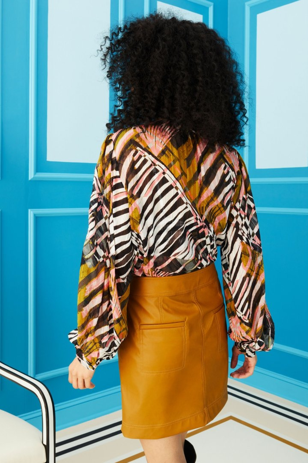 Marie Oliver Kendra Blouse - Side Cropped Image