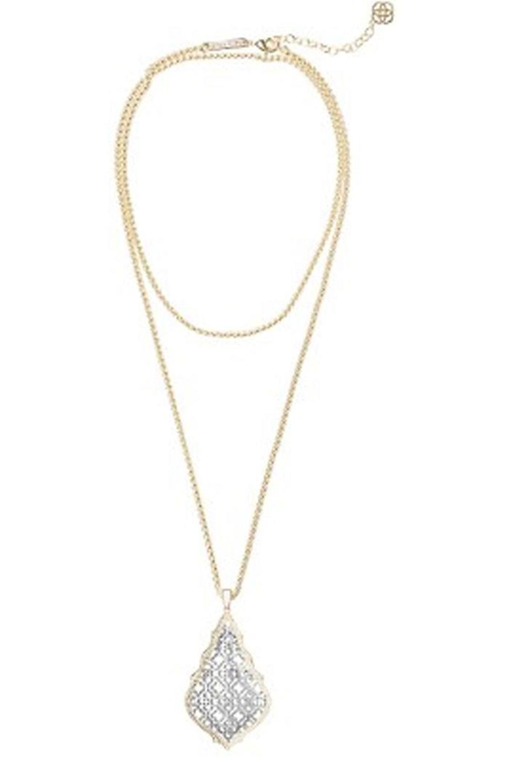 Kendra Scott Aiden Silver Necklace - Main Image