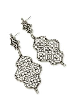 Kendra Scott Filligree Silver Earring - Product List Image
